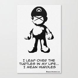 Ex Mario Canvas Print