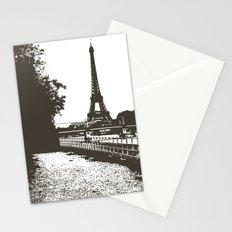 Paris Art - Eiffel Tower Stationery Cards