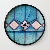 window Wall Clocks featuring window by Claudia Drossert