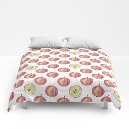 Apple mood Comforters