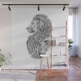 Courage to create Wall Mural