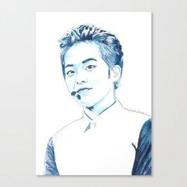 Xiumin Watercolour Design Canvas Print