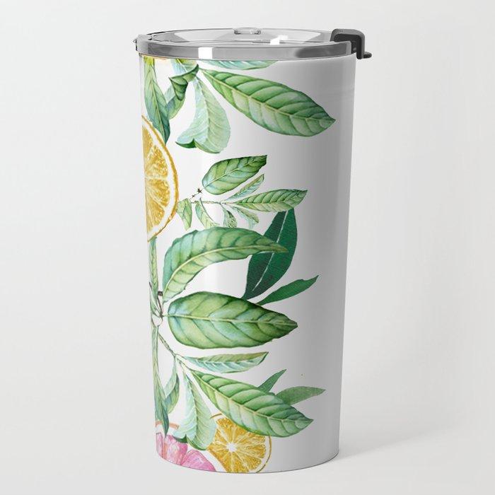 Citrus Fruit Travel Mug