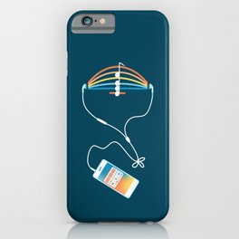 Choose what to listen iPhone Case