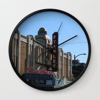 stanley kubrick Wall Clocks featuring Stanley by RMK Photography