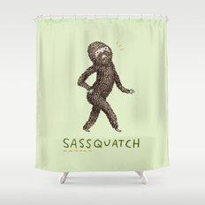 Sassquatch Shower Curtain