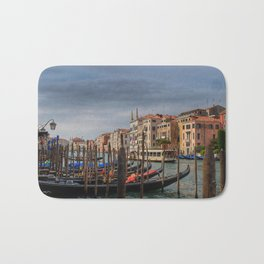 Gondola's on Grand Canal Bath Mat