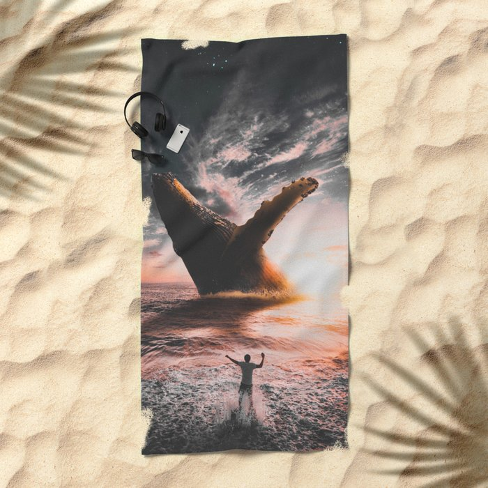 HELLO Beach Towel