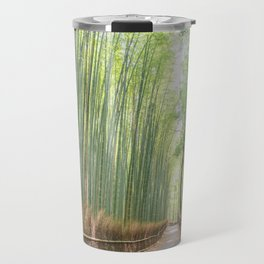 Empty Path Arashiyama Bamboo Forest Travel Mug
