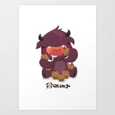 Monstrous Collab Art Print