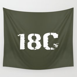 18C Special Forces Engineer Wall Tapestry