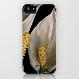 Chatting Lilies iPhone Case