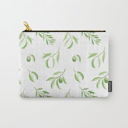 Olives watercolor pattern Carry-All Pouch