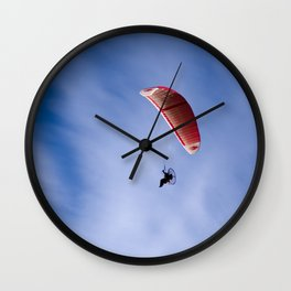 Motorized Paragliding Wall Clock