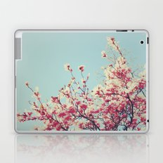 Retro Blossoms Laptop & iPad Skin