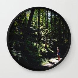 Forest Gazing Wall Clock