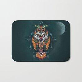 Wisdom Of The Owl King Bath Mat