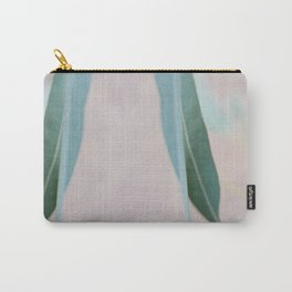 Eucalyptus leaves in the park Carry-All Pouch
