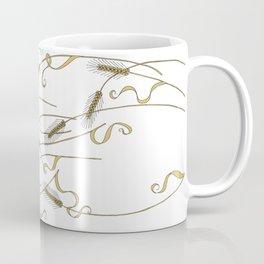 Art Nouveau - Scattered Wheat Coffee Mug