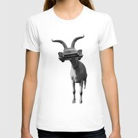 goat T-shirts featuring goat by Panic Junkie