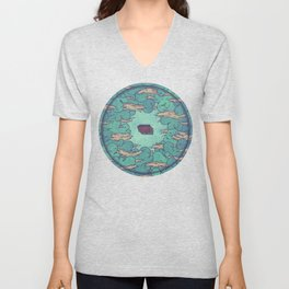 Away from Everyone Unisex V-Neck