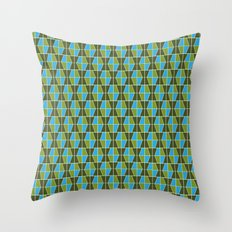 Tile Pattern 1 Throw Pillow