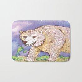Hungry Bear Bath Mat
