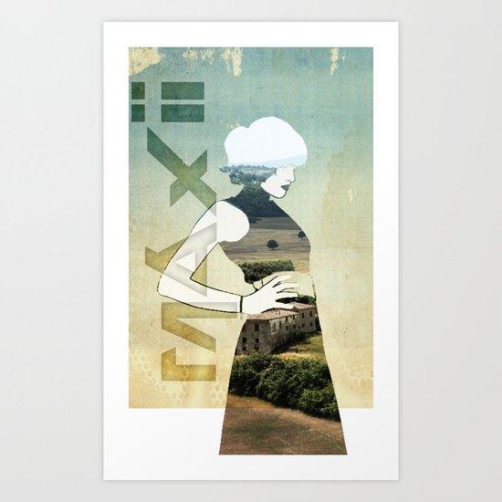 Maxii girl 02 Art Print