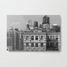 New York City Rooftops Metal Print
