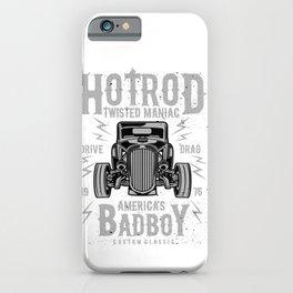 Hod Rod Twisted Maniac America's Bad Boy iPhone Case