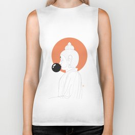 Buddha : Concentrate on the Void! Biker Tank