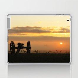 Sunrise on a foggy Battlefield Laptop & iPad Skin
