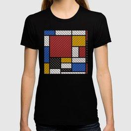 Mondrian in a Sofa-Style T-shirt