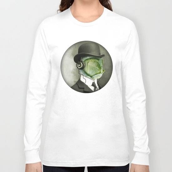 Bowler cabbage Long Sleeve T-shirt