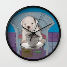can't this wait until after my first cup Wall Clock