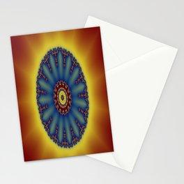 """kaliedoscope/Mandala  - """"Shining"""" Stationery Cards"""