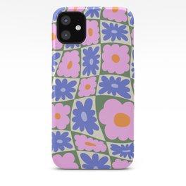 Floral seven iPhone Case