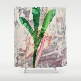 Leaf Projection Screen 5 Cecilia Lee Shower Curtain