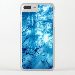 Foggy Tales Clear iPhone Case