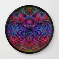 demon Wall Clocks featuring Demon by GypsYonic