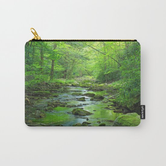 Rocky Forest Creek Carry-All Pouch