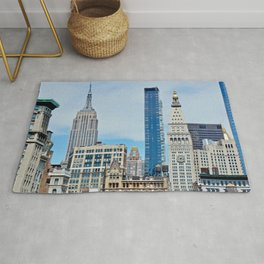 Heights and Sights NYC Rug