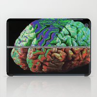 brain iPad Cases featuring Brain by Brandon Czekay