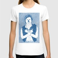 han solo T-shirts featuring Han Solo by David Penela