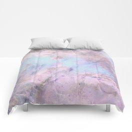 Iridescent Shadows Marble Comforters