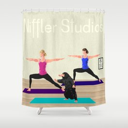 Niffler Yoga Studio Shower Curtain