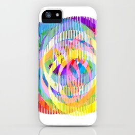 Rainbow Ribbons iPhone Case