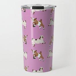 Baesic Prancing Goats Travel Mug