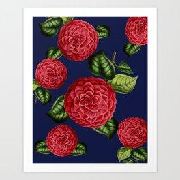 FLOWERS1 Art Print