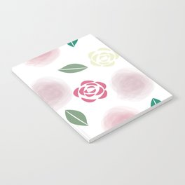 Abstract Roses Notebook
